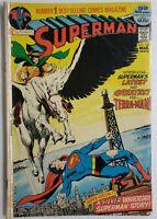 🔥 SUPERMAN #249 1972 1ST APP TERRA-MAN DC COMICS SILVER ANNIVERSARY STORY