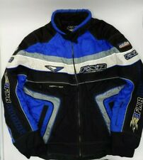 Mens FXR Racing Snowmobile Jacket Size L - Dry Vent System Vintage Flames