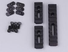 "Alum 20mm Picatinny Weaver Rail 2.5""&4"" Section Mount Set for HandGuard Rifle"