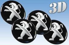 Wheel stickers Peugeot NEW all size Centre Cap Logo Badge Wheel Trims 3d 30mm