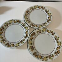 Noritake China ELLOREE 2169 Cook 'n Serve, Fruit - BREAD PLATE SET OF 6