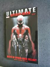 Ulimate Comics Spider man: Death of Spider-man fallout  Hardcover