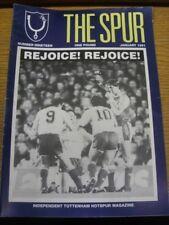Fanzine de Jan-1991: Tottenham Hotspur-la espuela, número 19. bobfrankandelvis [Foo
