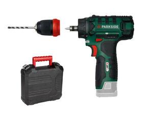 PARKSIDE Akku Bohrschrauber PBSA 12 C2 12 Volt mit Bithalter (1 / 2 / ohne Akku)