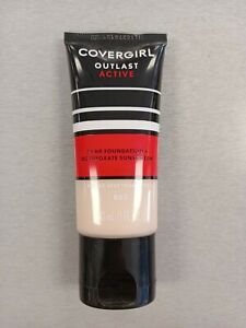Covergirl Outlast Active 24 Hr Foundation SPF 20 No 800 Fair Ivory