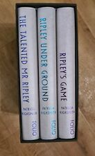 Folio Society Books Boxed Set of The Talented Mr Ripley, Perfect Condition.