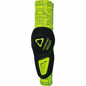 Leatt 3DF Hybrid Elbow Guards - Black/Lime Green, All Sizes