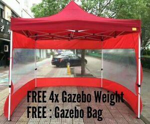 MARKET STALL GAZEBO 3mx3m HIGH QUALITY POP UP TENT