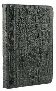 Crocodile Case Kindle 4 5 Touch & 7 M-Edge cover jacket Microfiber PU leather