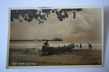 Ak Port Limon, Costa Rica,  1937 gelaufen
