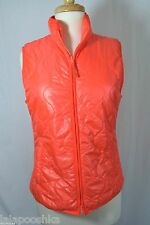 J Crew Layering Vest with Primaloft Size S Sweet Persimmon NWT