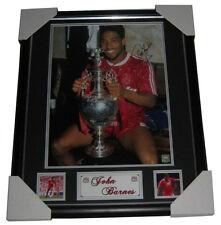 John Barnes Signed Photo Memorabilia - Photo Proof - FRAMED - Personally signed