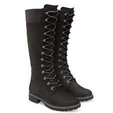 Timberland 14 Inch Premium Black (z16) 8167r Womens BOOTS All Sizes UK 6 / EU 39
