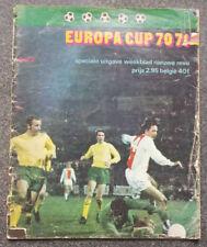 European Cup Home Teams C-E Final Football Programmes