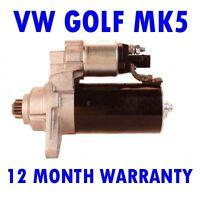 VW Golf mk5 mk V 1.9 2003 2004 2005 2006 2007 2008 2009 starter motor