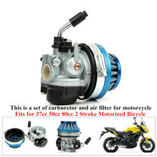 Metal Carburetor With Air Filter Part For Motorcycle Bike 37/50CC 80CC Universal