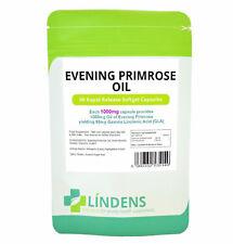 Evening Primrose Oil 1000mg Capsules (Cold Pressed Oil) 90 pack  Lindens