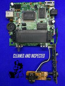 Original Nintendo Gameboy Game Boy DMG-01 Back CPU Motherboard - Fully Tested