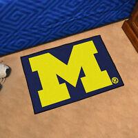"University of Michigan Durable Starter Mat - 19"" X 30"""