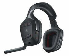 Logitech Wireless Gaming Headset G930 Kophörer Funk + Ladestation OHNE USB Stick