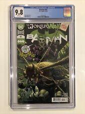 Batman #97 CGC 9.8 James Tynion IV - JOKER WAR Guillem March 2020