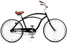 Fito Marina Alloy 1-speed Glossy black, Aluminum Light Weight Beach Cruiser Bike