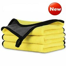 Car Wash Microfiber Towel Auto Cleaning Drying Cloth Hemming Super Absorbent EN