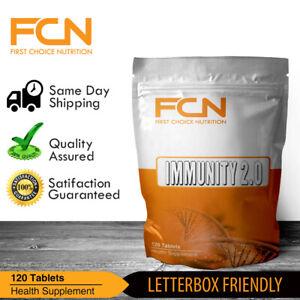 Immunity x 120 Tablets | NAC | Spirulina | Blueberry | Milk Thistle | Garlic