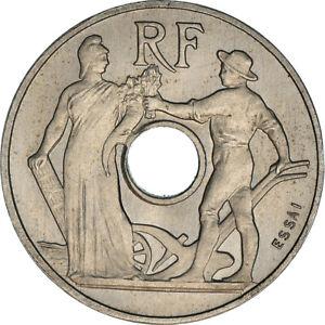 [#181783] Monnaie, France, Essai de Peter, 25 Centimes, 1913, SUP+, Nickel, Gado