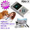 """VET veterinario Pulso Dedo Oxigeno Pulsioximetro análisis Software 1.8""""grande"""