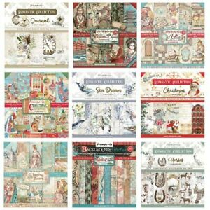 Stamperia - 8x8 Paper Pad - INCLUDES NEW SEPTEMBER/CHRISTMAS 2021 DESIGNS