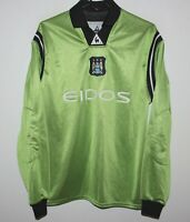 Manchester City England GK goalkeeper football shirt 01/02 Le coq Sportif 30/32