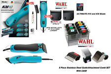Wahl KM10 ULTIMATE CLIPPER&10,30 Blade&Stainless Steel Guide Attachment COMB SET