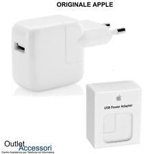 Alimentatore ORIGINALE Apple Presa USB Power Adapter A1401 12W per Iphone ipad
