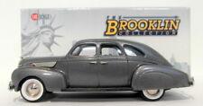 Brooklin 1/43 Scale BRK106  - 1938 Lincoln Zephyr 4Dr Sedan Gray Metallic