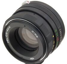 Helios-44M Objektive 58mm 50mm f2 2.0 Russian lens M42 dSLR Pentax Canon biotar