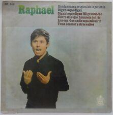 Raphael - Digan Lo Que Digan Banda Sonora Original LP 1969 Spain latin chanson