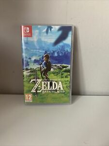 The Legend of Zelda Breath of The Wild (Nintendo Switch, 2017)