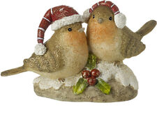 Beautifully Crafted Robin Ornament Decoration 16cm Birds Wildlife