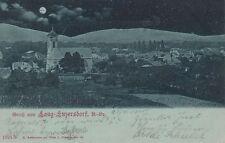 71504- Mondschein Ak Gruß aus Langenzersdorf Bezirk Korneuburg Niederösterreich