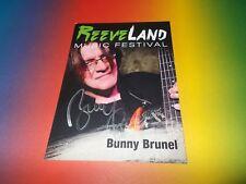 Bunny Brunel  signiert signed autograph Autogramm auf Autogrammkarte in person