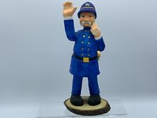 """New ListingPolice/1994 Enesco """"The Golden League"""" Don Martin Wooden Carved Policeman/Bobby"""