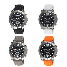 Silicone/Rubber Strap Round 30 m (3 ATM) Wristwatches