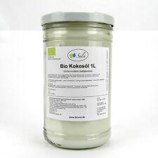 (10,95/L) Sala Bio Kokosöl 100% reines Kokos Massage Öl kaltgepresst 1000 ml 1 L