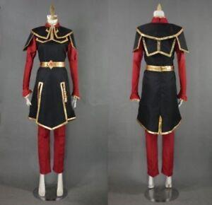 Customized Azula Cosplay costume from Avatar
