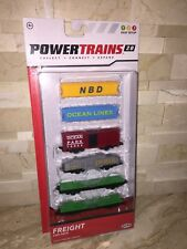 POWER TRAINS 2.0 FREIGHT CAR PACK