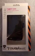 Body Glove ToughSuit Case w/ Holster Belt Clip for iPhone 5/5S Black - New