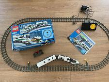 Lego Eisenbahn Set (4511) inkl. Schienen, Weichen und Trafo
