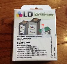 LD REMANHP99 C9369WN Recycled Ink Cartridge - Color (A1)