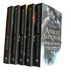 The Witcher Series 5 Book Collection by Andrzej Sapkowski Book Fantasy New